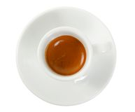 Cup with coffee espresso Stock Photo