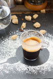 Cup of coffee espresso Stock Image