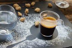 Cup of coffee espresso Stock Photo