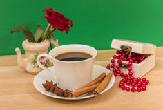 Cup of coffee. Stock Images
