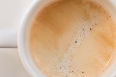 A cup of coffee. A Cup of fresh coffee Royalty Free Stock Photography