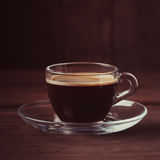 Cup of coffee with fume Royalty Free Stock Photos