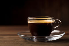 Cup of coffee with fume Stock Photography