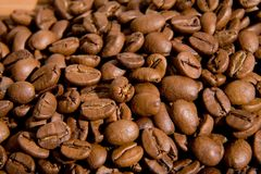 Cup with coffee grain Stock Photo