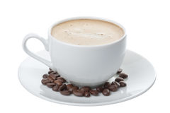 Cup of coffee isolated Royalty Free Stock Image