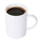 Cup of Coffee Isolated royalty free stock photos