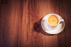 Cup of coffee. Isolated on a background a tree Royalty Free Stock Images
