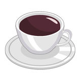 Cup of coffee isolated Royalty Free Stock Photo