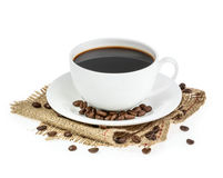 Cup of coffee isolated Stock Photo