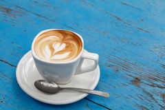 Cup of coffee latte Stock Photography