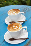 Cup of coffee latte Royalty Free Stock Photo