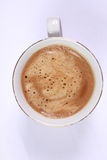 Cup of coffee made from fresh roasted coffee beans Royalty Free Stock Image