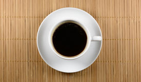 Cup of coffee. On matting background Royalty Free Stock Photography