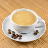 Cup of coffee. On matting background Stock Images