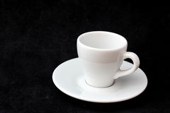 Cup of coffee for menu and love Stock Images