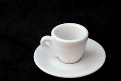 Cup of coffee for menu and love Stock Image