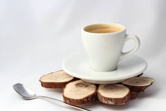 Cup of coffee for menu and love Stock Photos