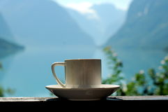 A cup of coffee, Norway Stock Photos