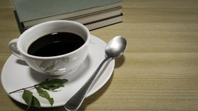 A cup of coffee office. Royalty Free Stock Photo