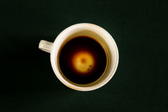 Cup coffee out. Stock Photos