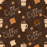 Cup of coffee Pattern Royalty Free Stock Image