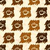 Cup of coffee Pattern Royalty Free Stock Photo