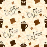 Cup of coffee Pattern Stock Image