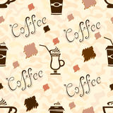Cup of coffee Pattern Stock Photo