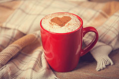 Cup with coffee Stock Image
