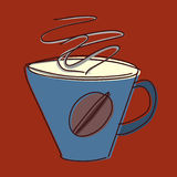 Cup of coffee sketch Stock Photo