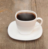 Cup of coffee with smoke Stock Images