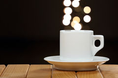 Cup of coffee with space for text Stock Image