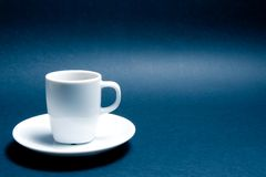 Cup of coffee with space for text Stock Photography