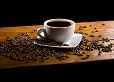 Cup of coffee, still-life Stock Photos