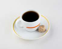 Cup of coffee. sugar. Cup of coffee. good drink. sweet Royalty Free Stock Photos