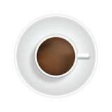 Cup of coffee/tea Royalty Free Stock Photos