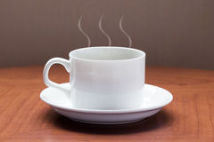 A cup of coffee or tea Royalty Free Stock Photography