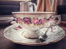 Cup of coffee or tea royalty free stock photo