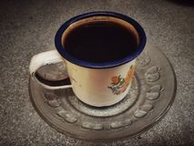 A cup coffee Royalty Free Stock Image
