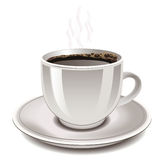 Cup of coffee, vector. Stock Image