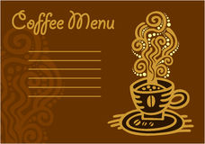 Cup of coffee - vector icon set Royalty Free Stock Photo