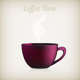 Cup of coffee. Vector Stock Image