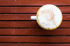 A cup of coffee Royalty Free Stock Photo