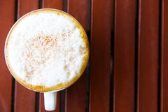A cup of coffee Royalty Free Stock Image