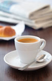 Cup of coffee. Royalty Free Stock Image