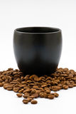 Cup coffees Stock Images