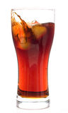 Cup of cold drink stock image