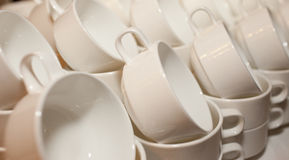 Cup collection Royalty Free Stock Images