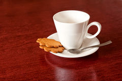 Cup with cookies Royalty Free Stock Image