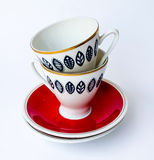 The Cup in the Cup.  Royalty Free Stock Images